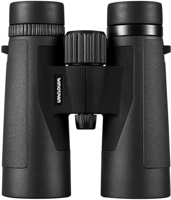 Wingspan Optics Voyager 10x42 High Powered Binoculars for Bird Watching