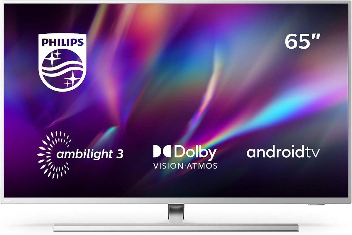 Televisor Philips Ambilight 65PUS8505/12, Smart TV de 65 pulgadas