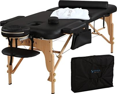 Best Portable Massage Table By Sierra Comfort All-Inclusive