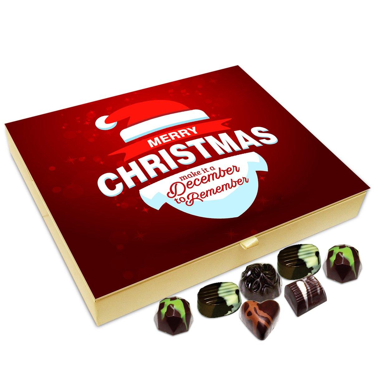 Chocholik Christmas Gift Baox – Merry Christmas Make It A December to Remember Chocolate Box – 20pc