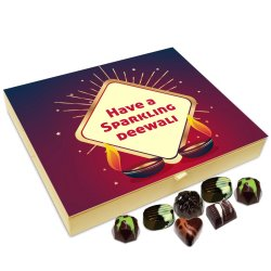 Chocholik Diwali Gift Box – Diwali is A Carnival of Goodness Enjoy Chocolate Box – 20pc