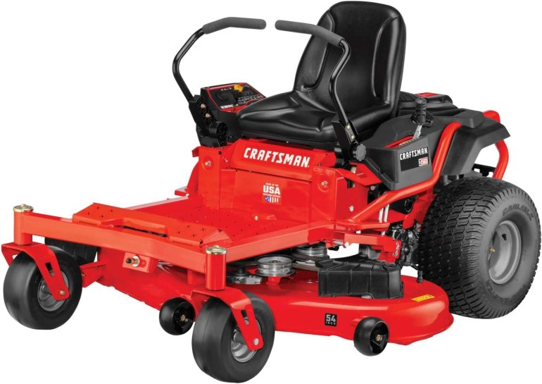 CRAFTSMAN Z560 24 HP Briggs & Stratton Platinum 54-Inch Gas Powered Zero Turn Riding Lawn Mower with ReadyStart