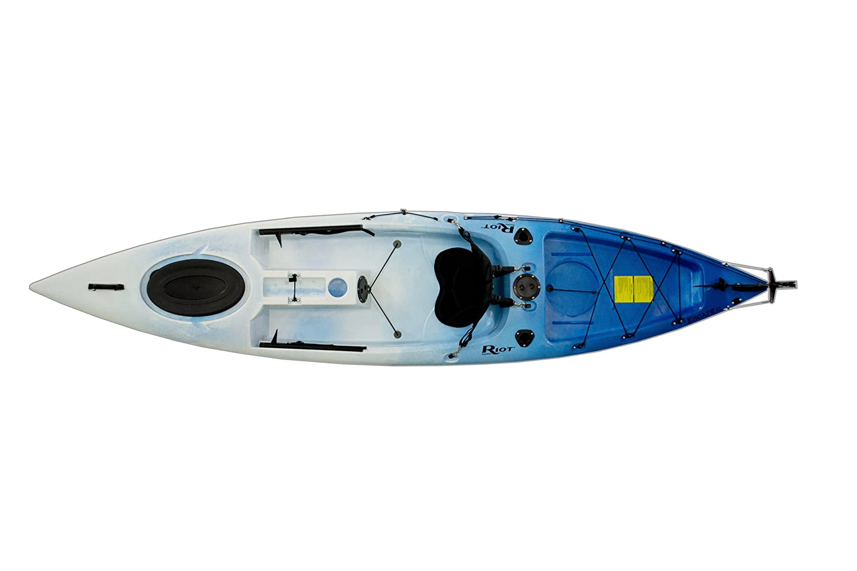 Riot Kayks Escape 12 Sit-On-Top Flatwater Recreational Kayak