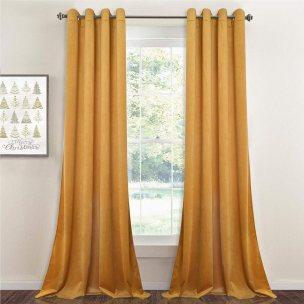 StangH Sound Lower Privacy Panels, Nursery Velvet Drapes
