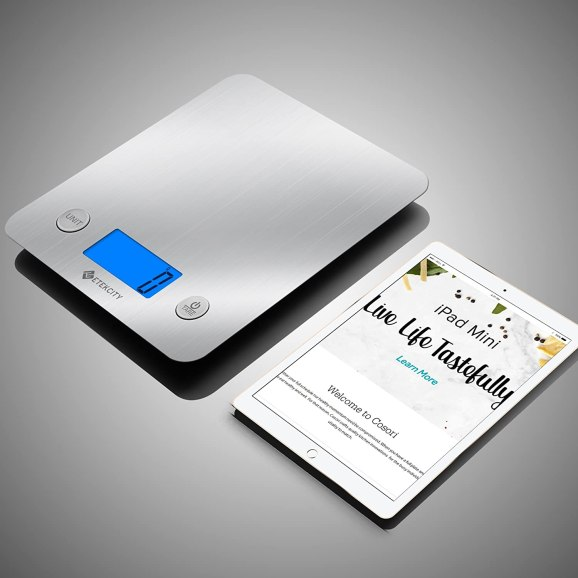 etekcity digital kitchen scale review
