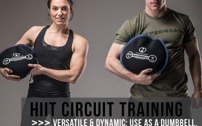 Hyperwear SandBell Sandbag Training Free Weight (Pre-filled)