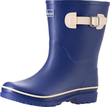 Jileon Mid Calf Rain Boot