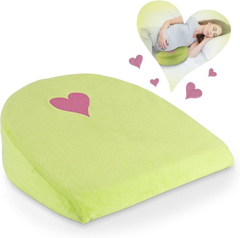 EBUNG Pregnancy Pillow Wedge – Ergonomic Pregnancy Cushion Pillow