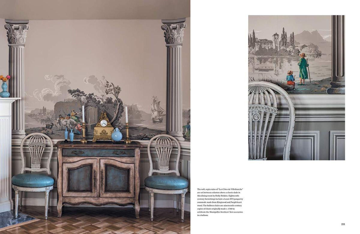Zuber. Dos siglos decorando paredes con empapelados de lujo.