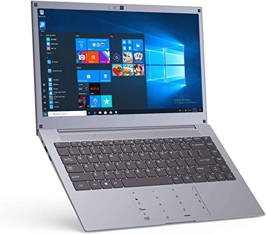 Laptop 14 Inch Windows -10 – Winnovo N140 Intel Celeron Processor 6GB RAM 128GB SSD HD IPS Display HDMI Touch Numeric Pad