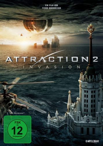 Attraction: Invasion DVD