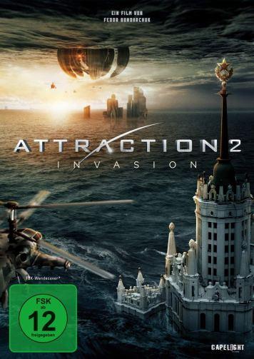 Attraction: Invasion DVD
