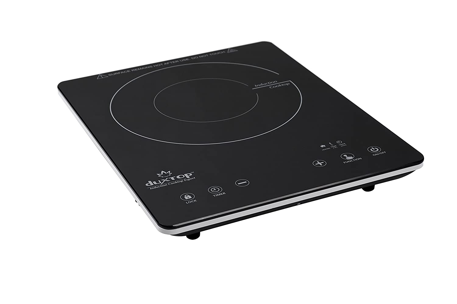 Amazon.com : DUXTOP Induction Cooktop This is the single burner induction portable stovetop we use in our bus – we love induction cooking, it's all we have!