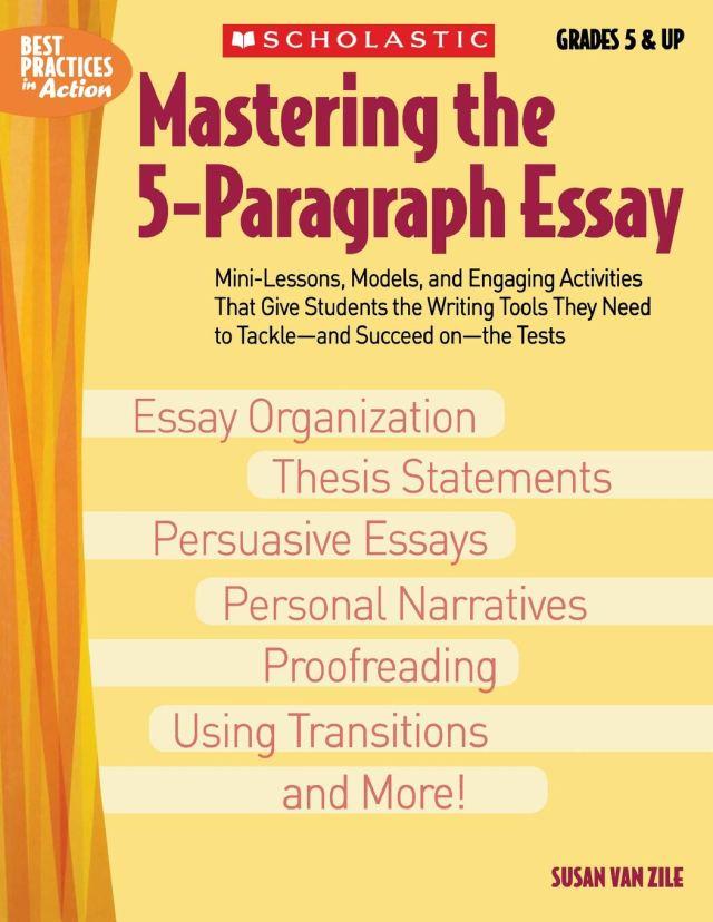Mastering the 29-Paragraph Essay : Van Zile, Susan: Amazon.ca: Books