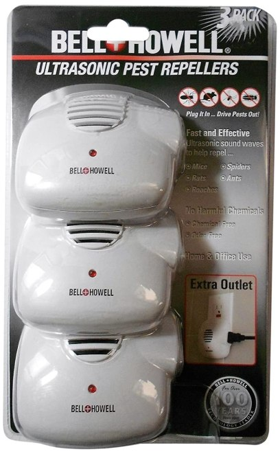 Bell and Howell Ultrasonic Pest Repeller review