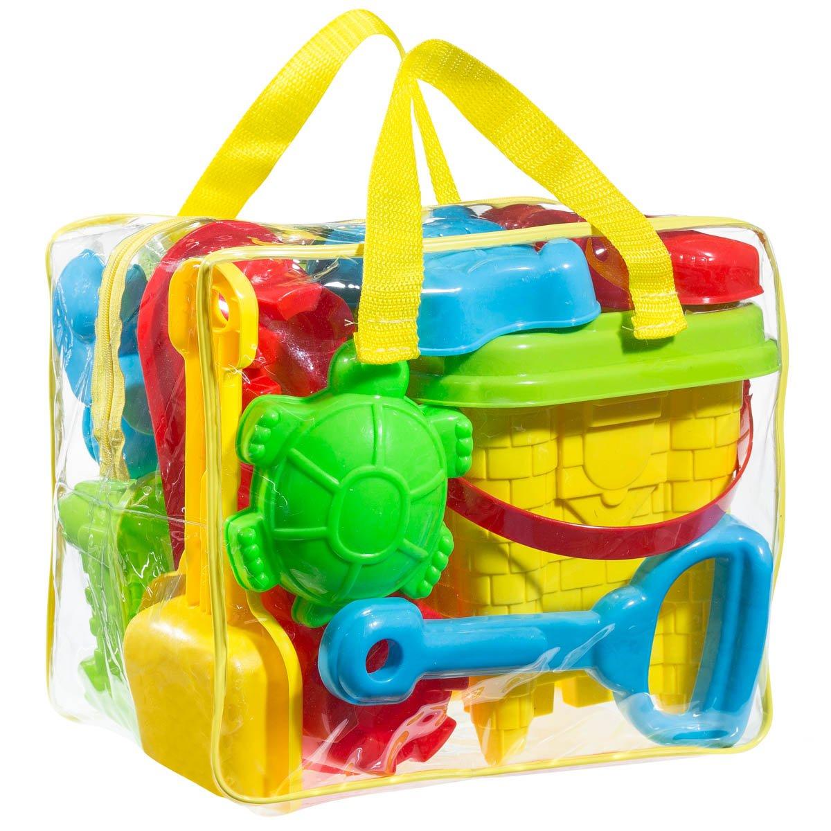 FoxPrint Beach sand toy set Models and Molds Bucket, Shovels,