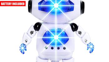CifToys Boys Toys Electronic Walking Dancing Robot Toy