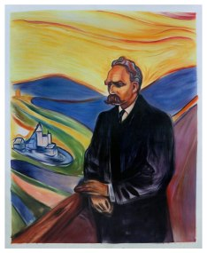 Amazon.com: Friedrich Nietzsche - Edvard Munch hand-painted oil painting  reproduction,German philosopher,cultural critic, poet,philologist,great man  art: Handmade
