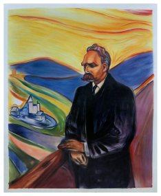 Amazon.com: Friedrich Nietzsche - Edvard Munch hand-painted oil painting  reproduction,German philosopher,cultural critic, poet,philologist,great man  art: Handmade