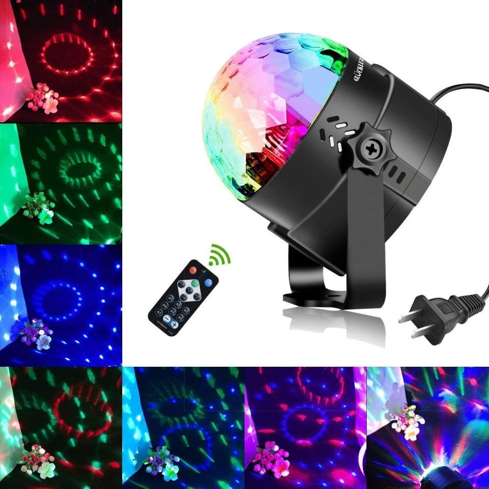 Glückluz Luces LED Decorativas Luces para Fiesta Luces DJ LED