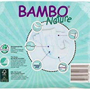Bambo Nature Diapers Size 1 28