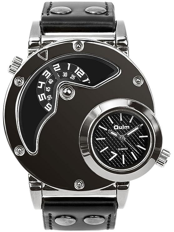 Relojes de kuarzo para hombre negrohttps://amzn.to/2QLIt0P