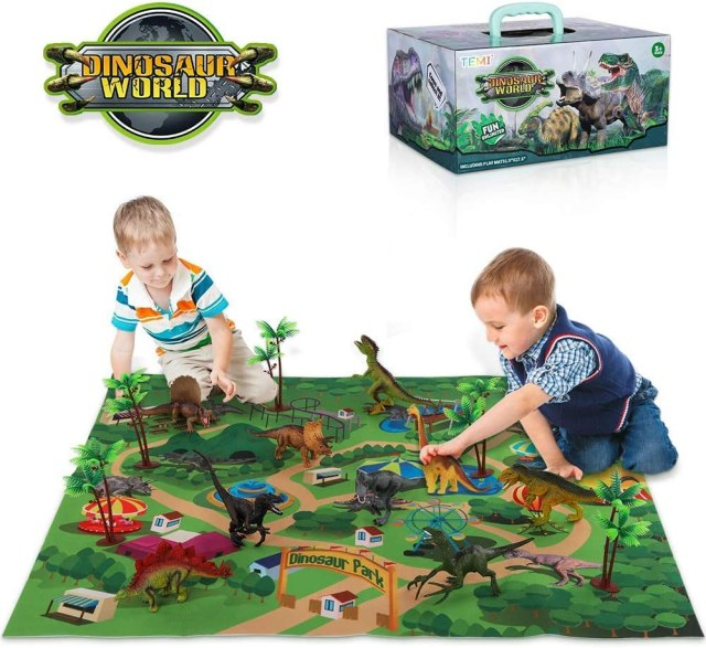Educational Realistic Dinosaur Playset