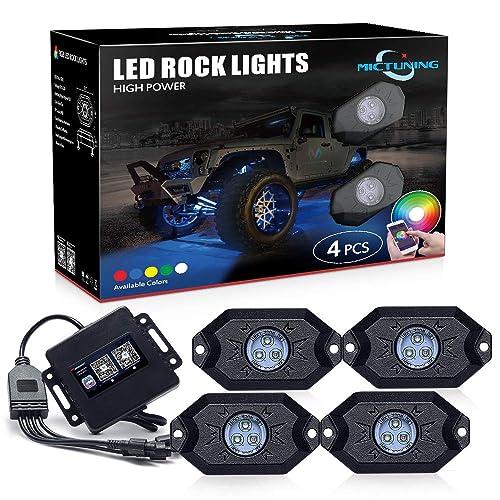 MICTUNING Rock Lights Kit (Editor's Choice)