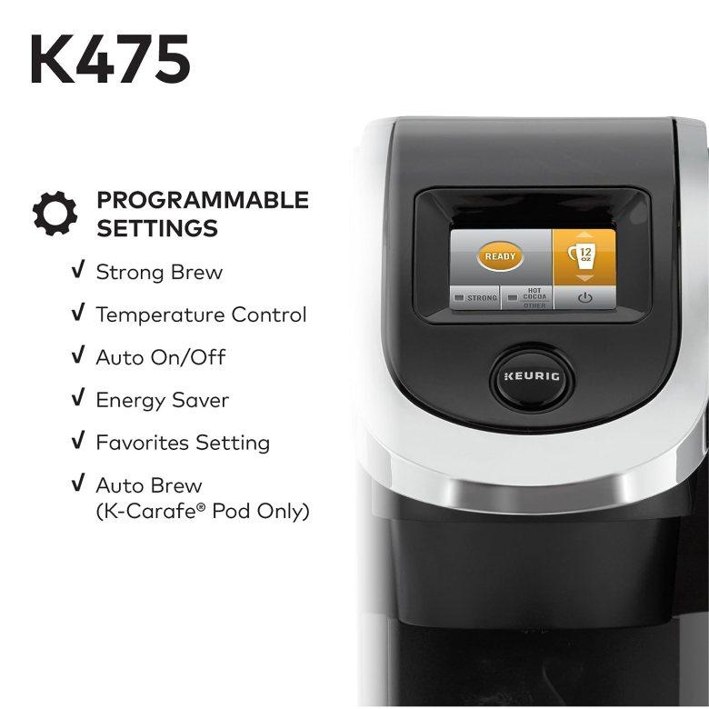 Keurig K425 vs. K475 (Which Is The Best Coffee Maker ...