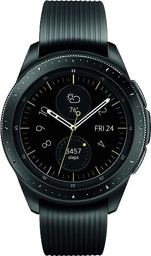 Samsung Galaxy Watch (42mm, GPS, Bluetooth) – Midnight Black (US Version)