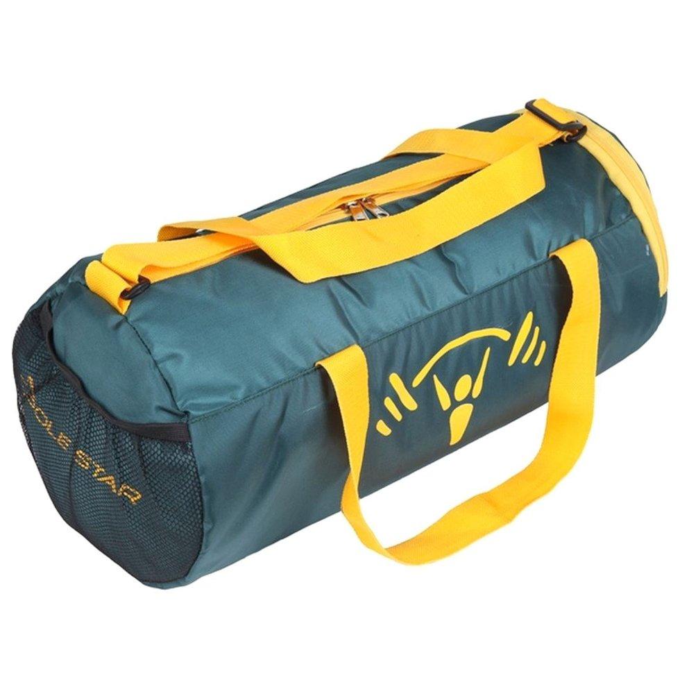 26lt Green Travel Duffel Luggage Gym Bag with Shoe Pocket  under Polestar Travel Bag