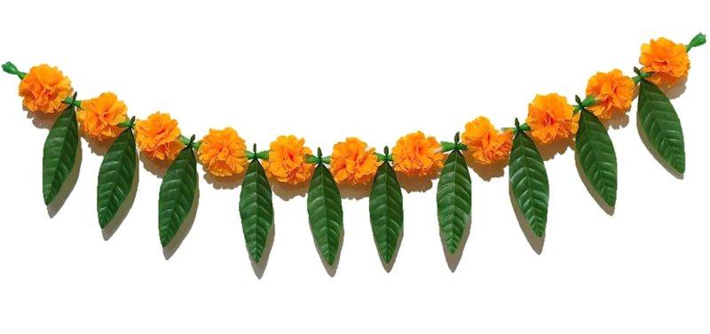 Shobha Sanskruti Artificial Flower Mango Leaves Toran Online At Low S In India