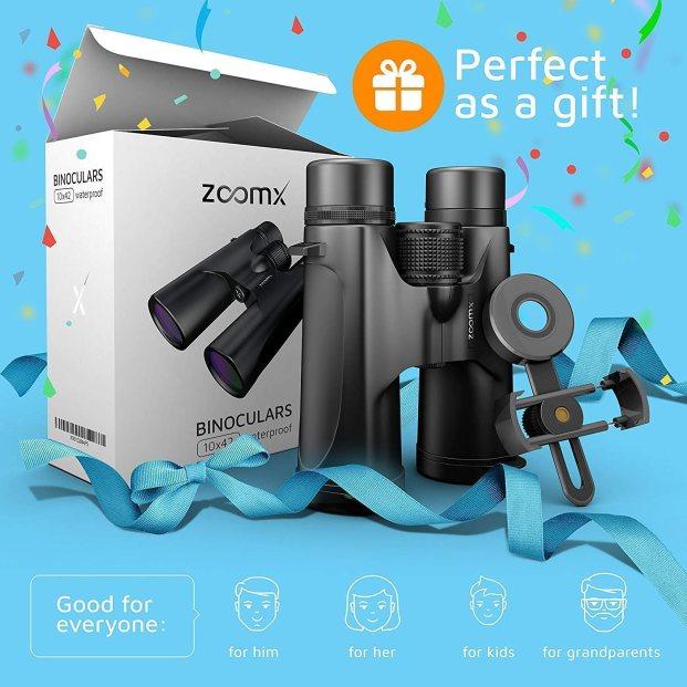 ZoomX - 007 Binoculars for Adults