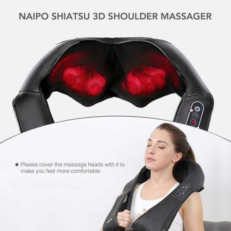Naipo Shiatsu Back and Neck Massager