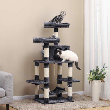 Mejores árboles para gatos (con rascador)