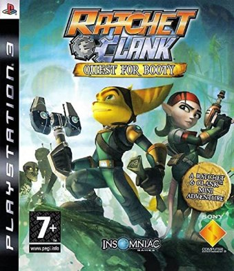 Ratchet and Clank Quest for Booty title
