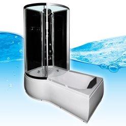 Badewanne mit integrierter Dusche von Aquapore