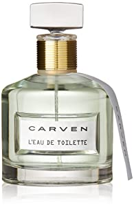 CARVEN L'EAU DE TOILETTE EDT 100ML, sem cor,