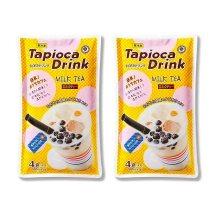 タピオカドリンク ミルクティー(65g×4)×2 合計8食分 冷凍 業務スーパー マツコの知らない世界