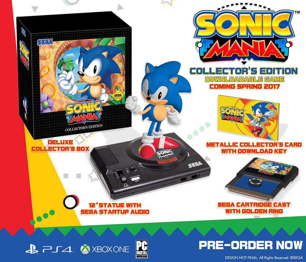 Sonic Mania : édition Collector PS4