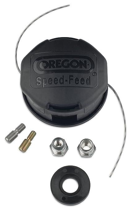 Oregon 55-265 Speed Feed 2 Line Trimmer Head 4 1/2 Inch Straight Shaft