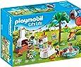 PLAYMOBIL City Life Fiesta en el Jardín, con Efectos de Luz, a Partir de 4 Años (9272)