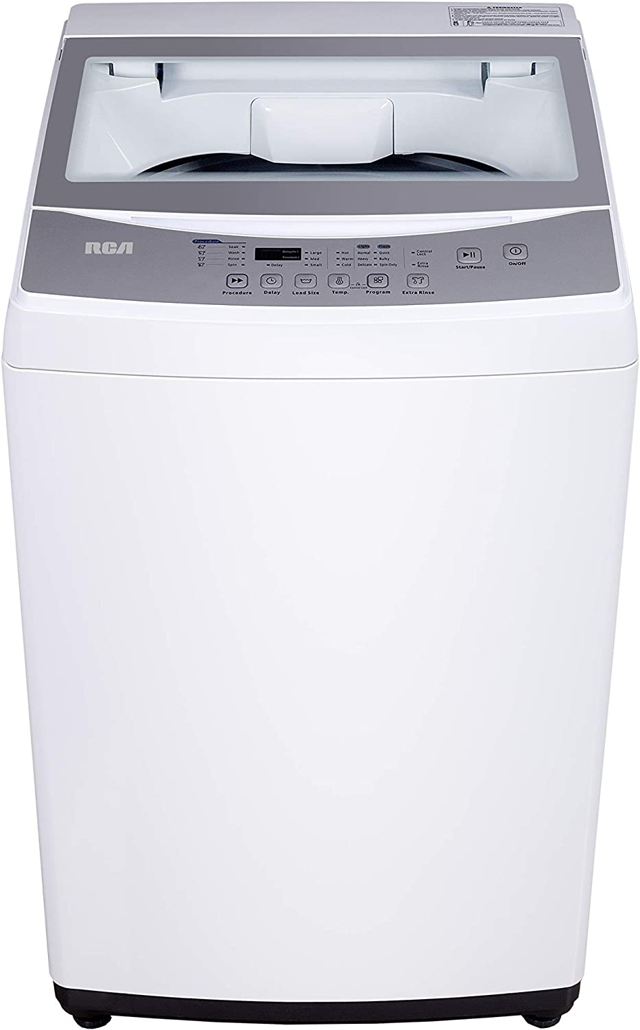 Amazon Com Rca Rpw210 Washer 2 1 Cu Ft White Appliances