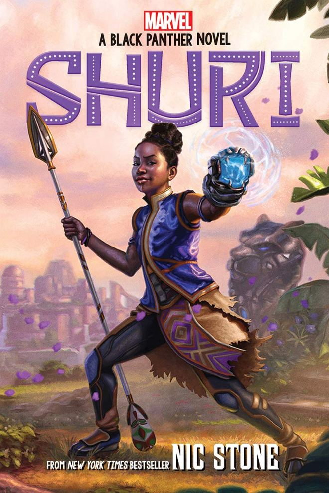 Shuri: A Black Panther Novel (Marvel) (1): Stone, Nic: 9781338585476:  Amazon.com: Books