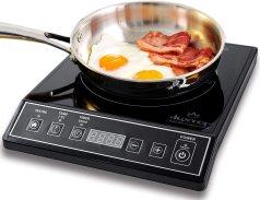 Duxtop 1800W Portable Induction Cooktop Countertop Burner, Black 9100MC/BT-M20B