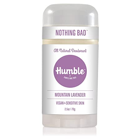 Humble Brands All Natural Vegan Deodorant Stick
