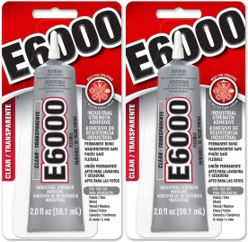 best glue for metal to leather - E6000