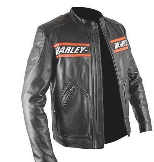 New Men S Harley Davidson Screaming Eagle Leather Jacket