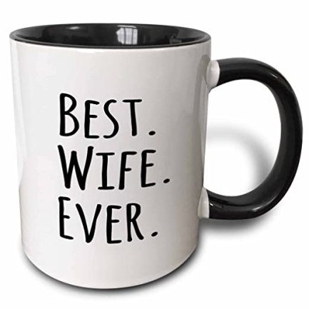 This best wife ever mug is such a unique gift for her!