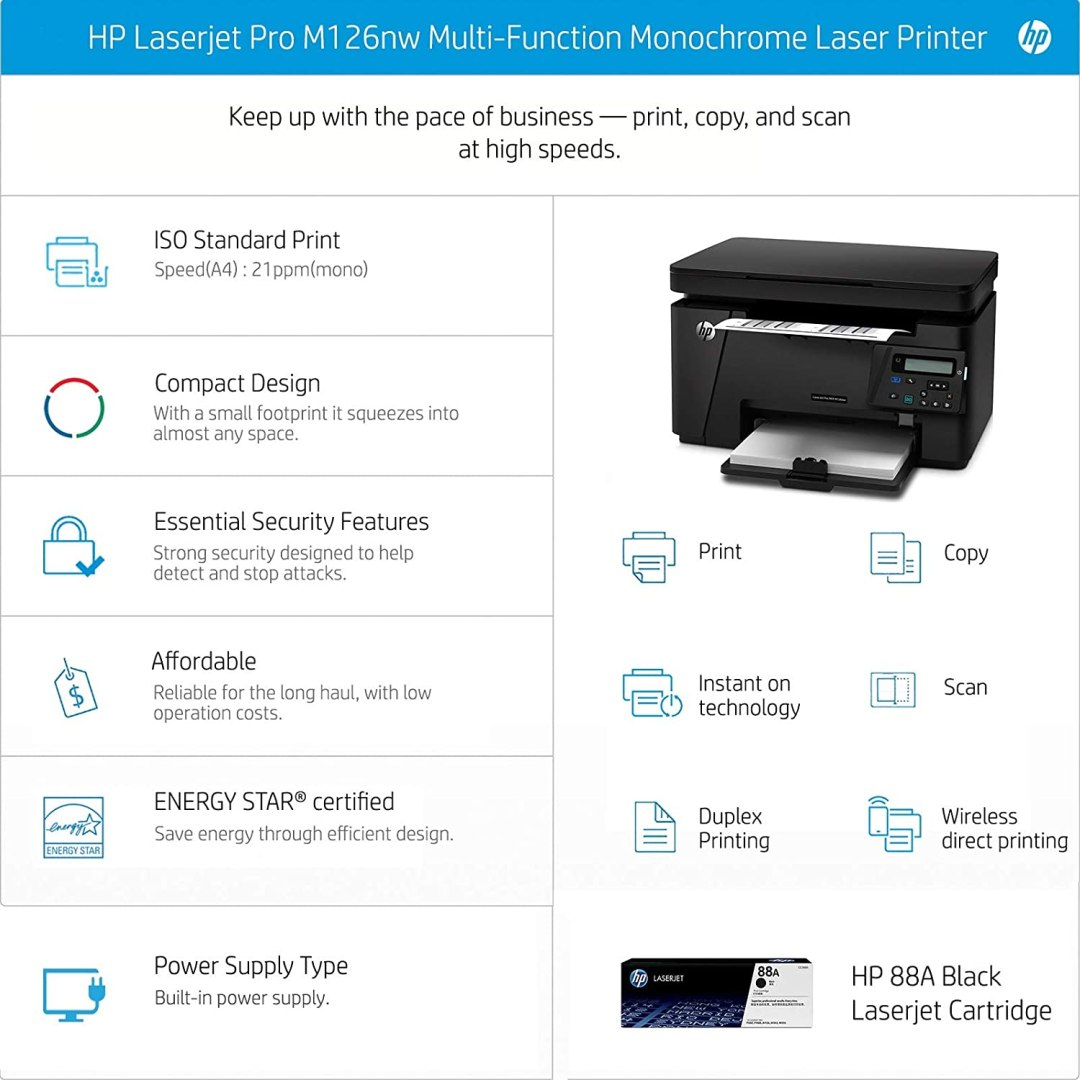 HP best printer with scanner for home use